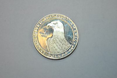 1983 S $1 Commemorative Silver Liberty Dollar Coin XXIII Olympiad Los Angeles