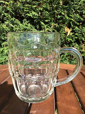 Perfect Vintage Dimple Pint Glass Tankard