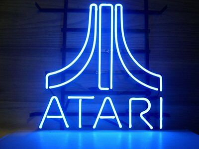 New ATARI Video Game Room Neon Sign 17''x14'' GA2S Ship from USA
