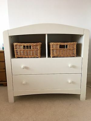 Mothercare Solid Wood Changing Unit With Storage