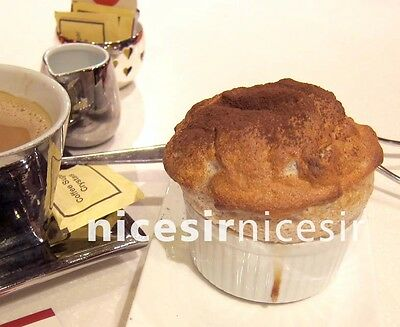 1 Yummy Dessert Chocolate Souffle Cake Image Picture Photo .99 Cent Auction