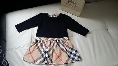 Burberry Baby Girl Dress 100% Genuine 18M Girls Toddler