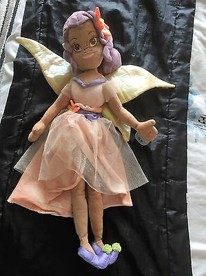 Disney Store Disney Fairies Fira 19 Inch Doll Soft Toy Tagged