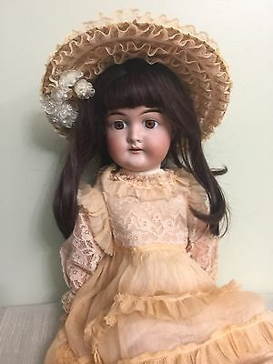 Antique Doll Karl Hartman Bisque On A Comp Body 22""