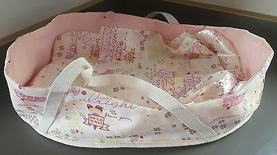 Zapf Creation Baby Annabell Carry Cot And Matching Bedding