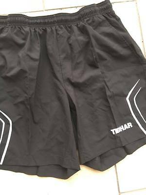 Tibhar Table Tennis Black Space Shorts