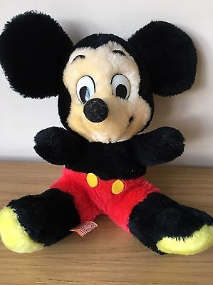 Vintage Mickey Mouse Walt Disney Rare Soft Toy