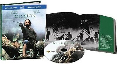 Blu Ray Collector //  MISSION  // Robert De Niro - Jeremy Irons  NEUF cellophané