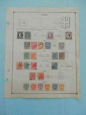 Serbia Old Collection 1869-1912 Extra Fine Dr Schultz Estate !!9128S