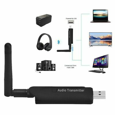 Micro USB Bluetooth Wireless A2DP Audio Transmitter Stereo Adapter for TV PC DVD