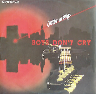 BOYS DON'T CRY - Cities on fire - Maxi-LP