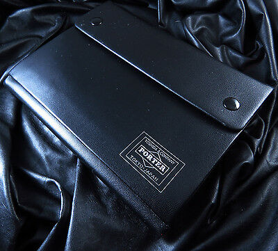 Genuine New Old Stock Japan  Porter Leather Note Book Pad Free Shipping