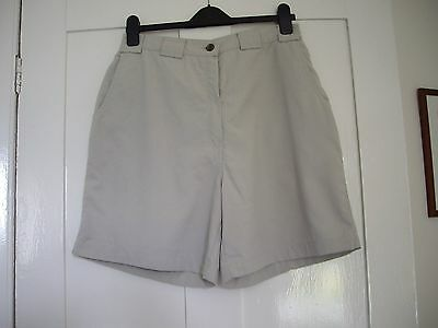 Rohan - 'On Route' Shorts - Size 14 - Stone colour