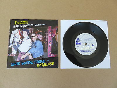 "LEMMY & THE UPSETTERS Blue Suede Shoes 7"" ORIGINAL UK PRESSING RARE MOTORHEAD"