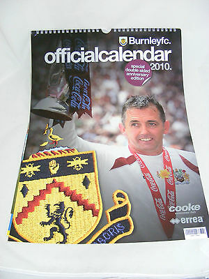 Burnley FC Official Calender 2010 - Double Sided Anniversary Edition