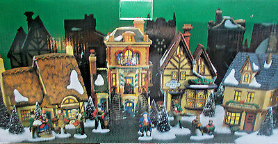 DEPT 56-58301 MANCHESTER SQUARE HERITAGE VILLAGE COLLECTION NEW c