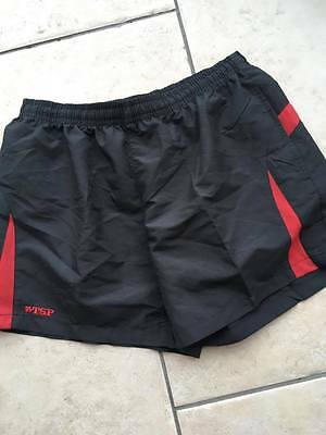 TSP Red Table Tennis Short  size L