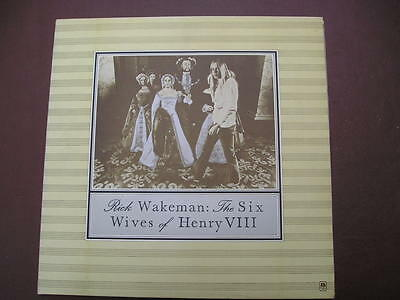 Rick Wakeman - The Six Wives of Henry V111 - 12 inch Vinyl - A&M Pressing - 1973