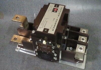 Cutler Hammer Contactor 350 Amp, 600 Vac, 3 Pole With 120 V Coil Model: C832Ln1