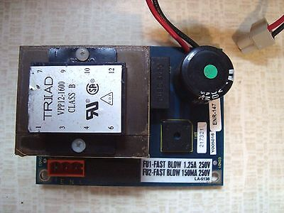 York Micro Gateway Circuit Power Board Part No: 031-02043-001 Rev C