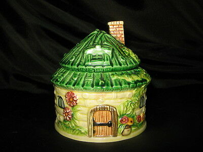 Vintage Japanese Marutomoware jam preserve honey pot pottery cottage FREE UK P&P