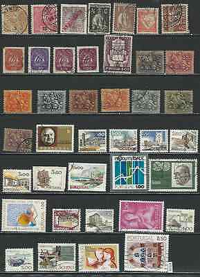 #7539 PORTUGAL Lot of Used Stamps