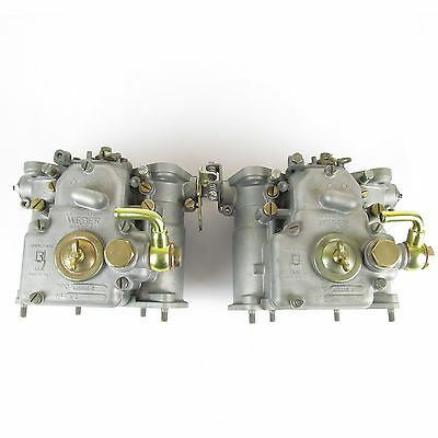 Reconditioned Weber 40 DCOE 2 carburettors  Alfa Romeo Sprint Veloce Super Sport