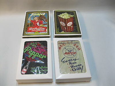 Dr Pepper 10-2-4 Collectors Club Convention Cards 2003, 2007, 2016, 2017