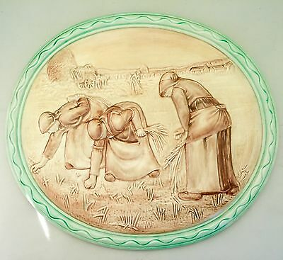 SUPERB 1930s ART DECO BESWICK WALL PLAQUE -THE GLEANERS