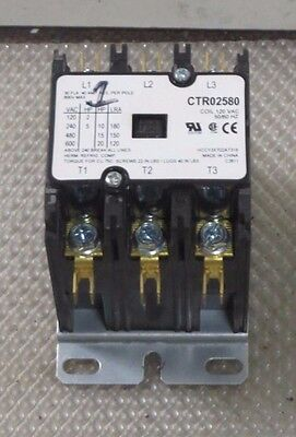 Trane Service First Contactor 30 Amp 600 Vac 120V Coil 20 Hp Model Ctr02580