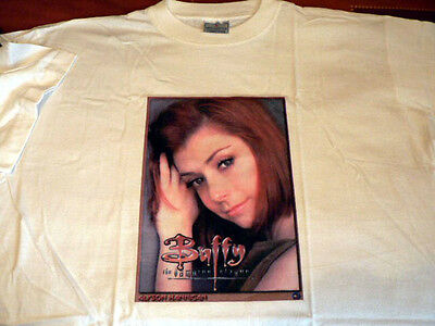 Buffy WillowT/Shirt White Size L Gift Present LIMITED STOCK
