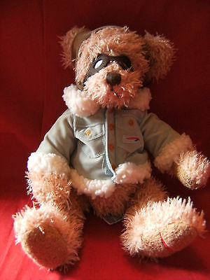 "British Airways Russ Berrie  "" Wilbur "" Plush Teddy Bear 11"""