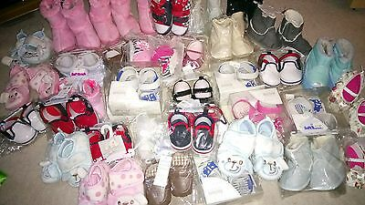 35 items Wholesale Joblot Baby Shoes tights cheap Discount Bulk Buy toddler