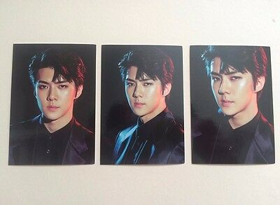 Exo Sehun Exo'rdium Concert Tour Super Natural Power Photocard Kpop
