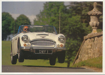 Austin Healey 3000 MODERN postcard published by Classic and Sports Car