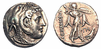 Ptolemaic Kings Of Egypt Ptolemy I Soter 305-282 BC AR Tetradrachm