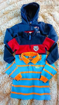 Boys Lovely Bundle of Top & Jumpers Age 4 years
