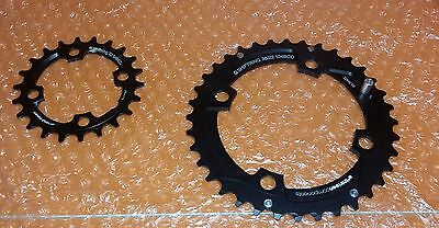 SHIMANO XT Double Chainring Set 34-24 T B.C.D. 96/64mm