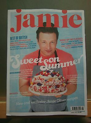 Jamie Oliver Recipes cook book/magazine Issue June 2017 *NEW* FREE UK POSTAGE!!!