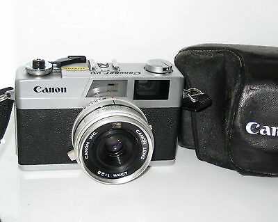 Canon Canonet 28   Serviced Perfetta Near Mint - 100% Funzionante Fully Working