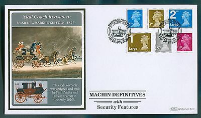 "2011 Machin Definitives with Security Features : Benham ""Official"" BLCS SP15"