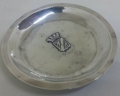 Vintage Antique? French Wimereux Solid Silver Trinket Dish Tray