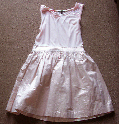 Girls pink party dress size 9-10 years by Autograph