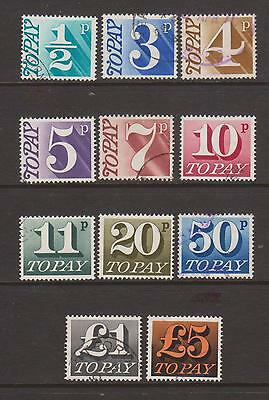 Gb-Postage Due Selection(A)--Used