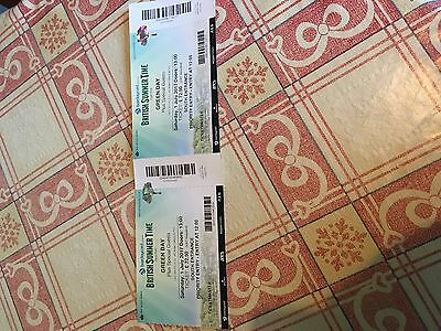 2x Green Day British Summer Time Tickets. Priority Entry. 1/7/2017