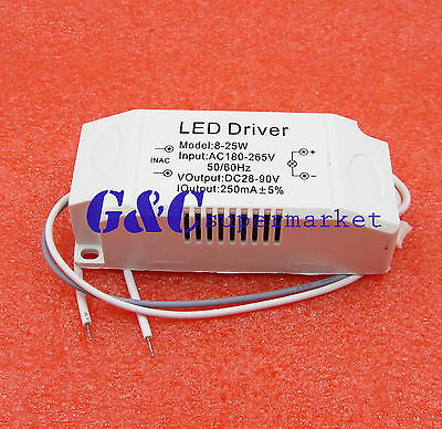 High Power 8-25x1w LED Drive Power Supply Constant Current SMD
