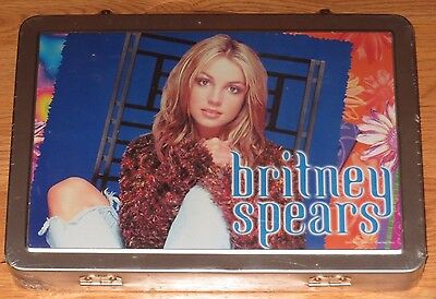 Britney Spears Metal Carrying Art Studio Genuine Britney Inc 2000-RARE-SEALED