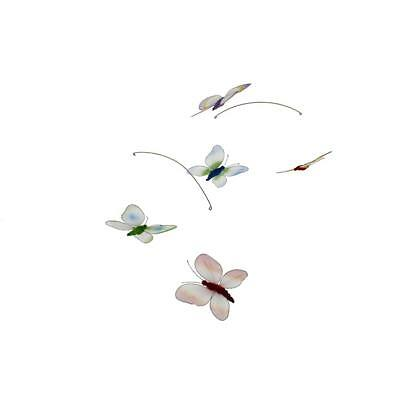 Season's Direct 3163 Multi Mesh Butterfly Indoor/Outdoor Decorative Mobile BHFO