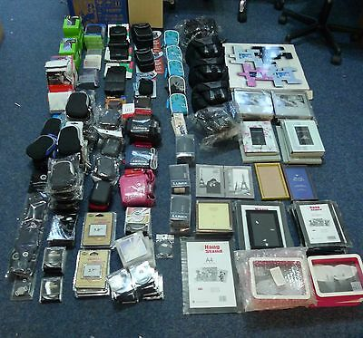 Job Lot of Photography Accessories  ex shop stock, camera bags, frames £1804.39