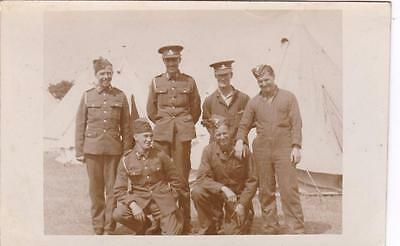 Ww2 Rp Stiffkey Tents Soldiers  T.a Army Military Camp Norfolk 1939 Real Photo